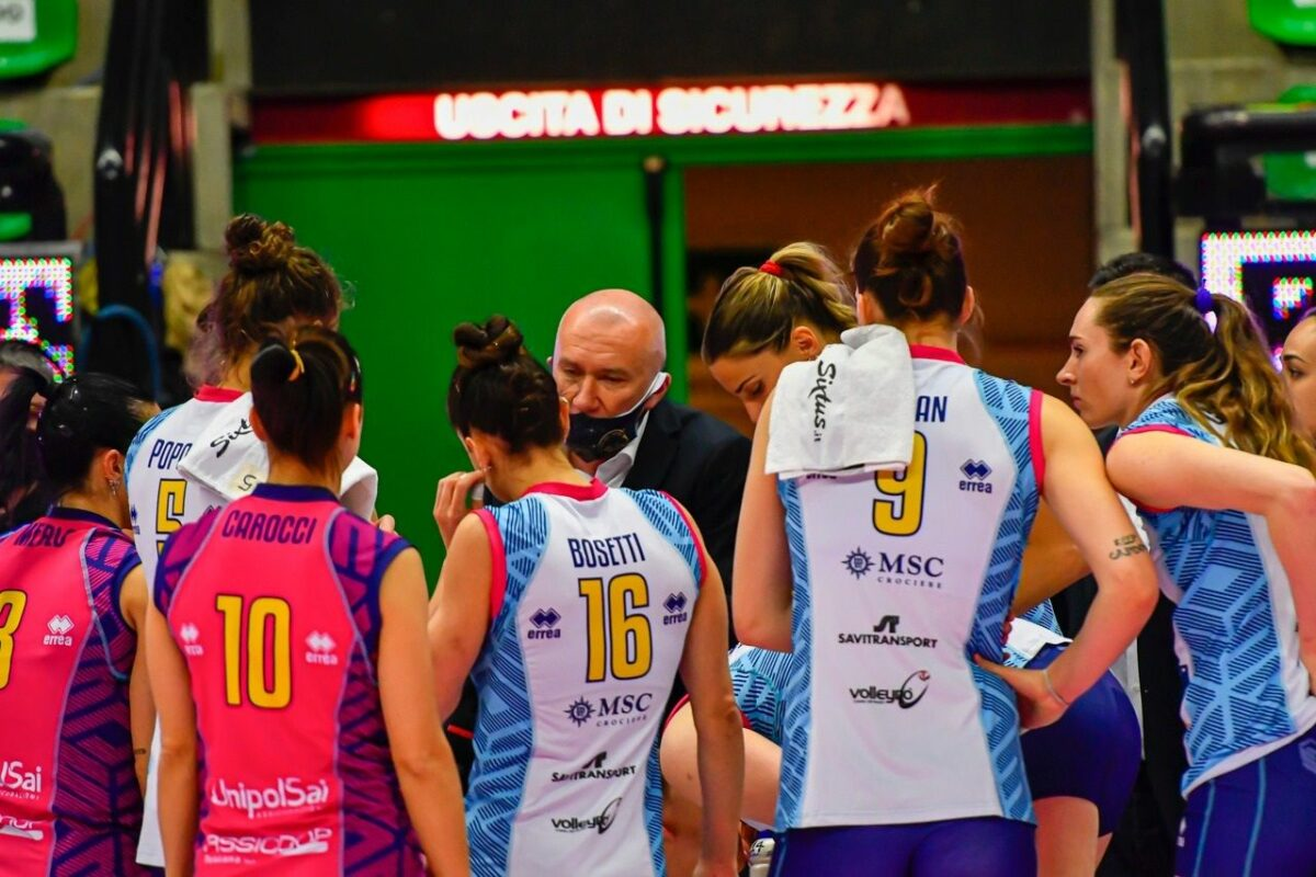 VOLLEY FEMMINILE Semifinali Playoff, Gara 1 Imoco Volley Conegliano- Savino Del Bene Scandicci 3-0 (25-23; 25-16; 25-14)