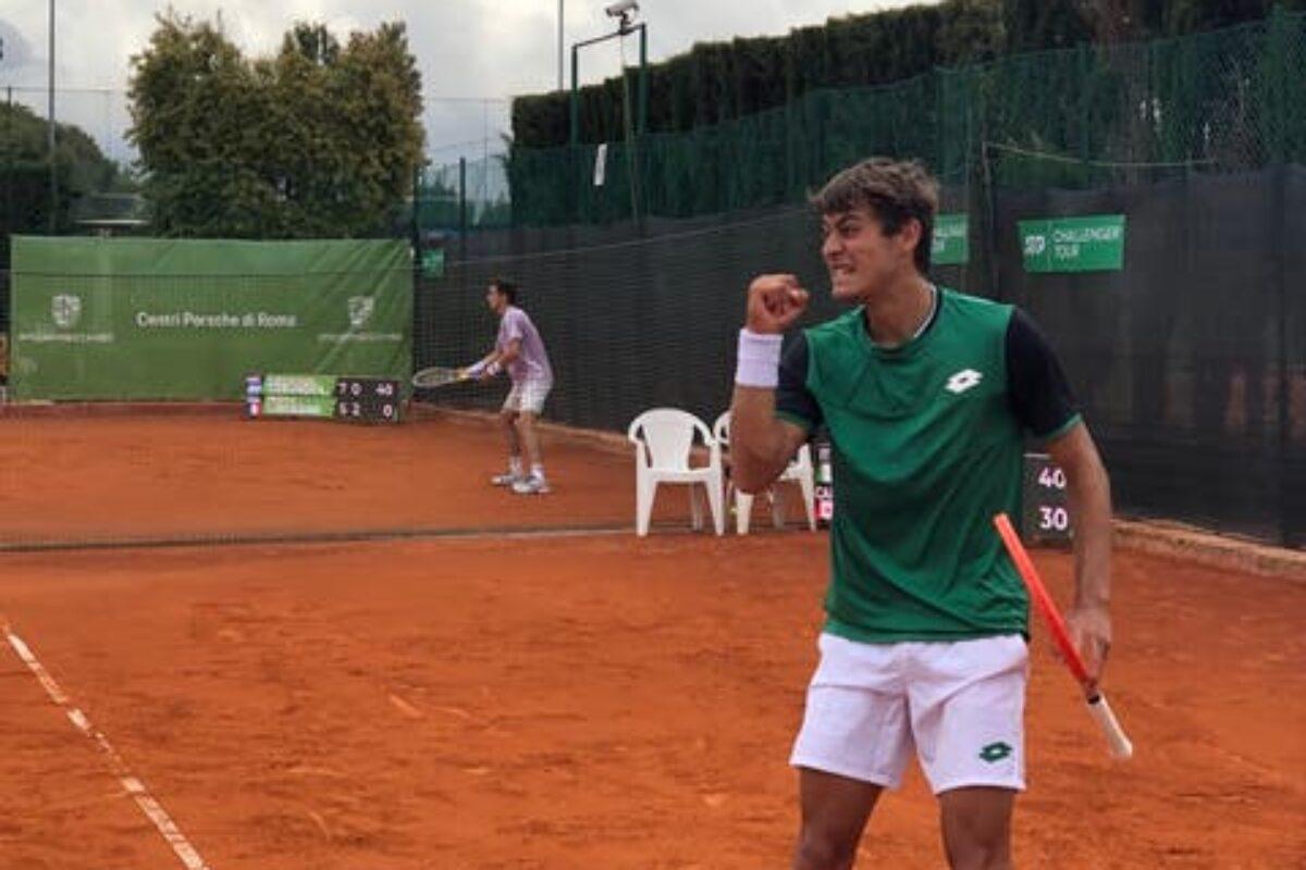 TENNIS- Challenger Roma: Cobolli doma Pellegrino e per la prima volta centra la semifinale. Giannessi ed un cuore enorme