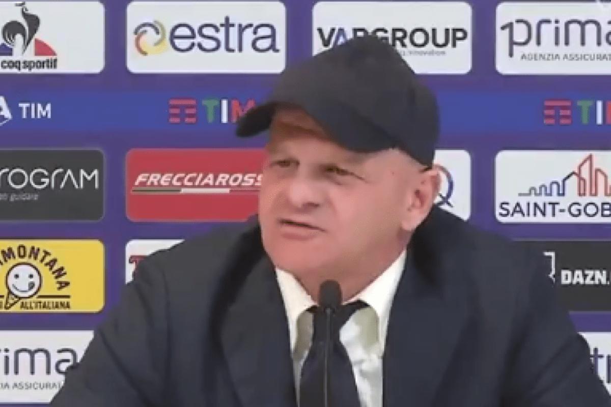 """<span class=""""hot"""">Live <i class=""""fa fa-bolt""""></i></span> CALCIO- Fiorentina, la conferenza stampa di Giuseppe Iachini pre Genoa."""