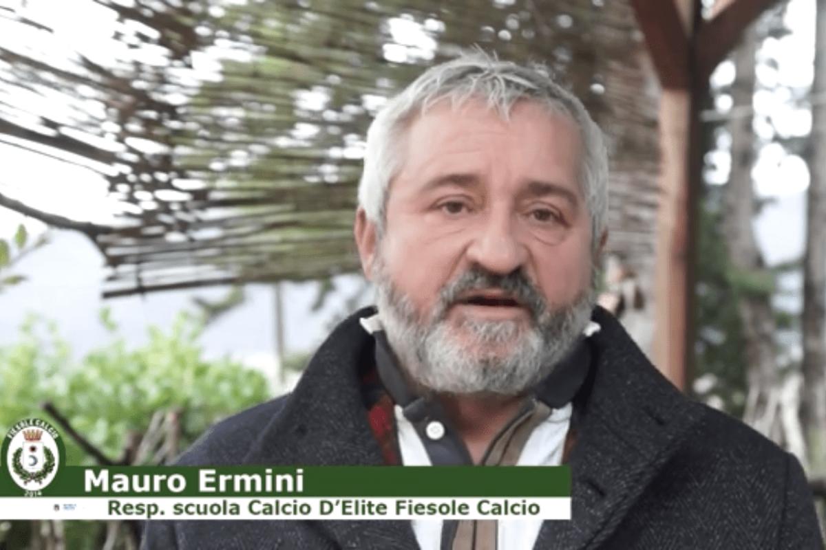 """Mauro Ermini lascia il Fiesole per scelta tecnica """"Sono dispiaciuto ma il calcio è questo, ringrazio tutti"""""""