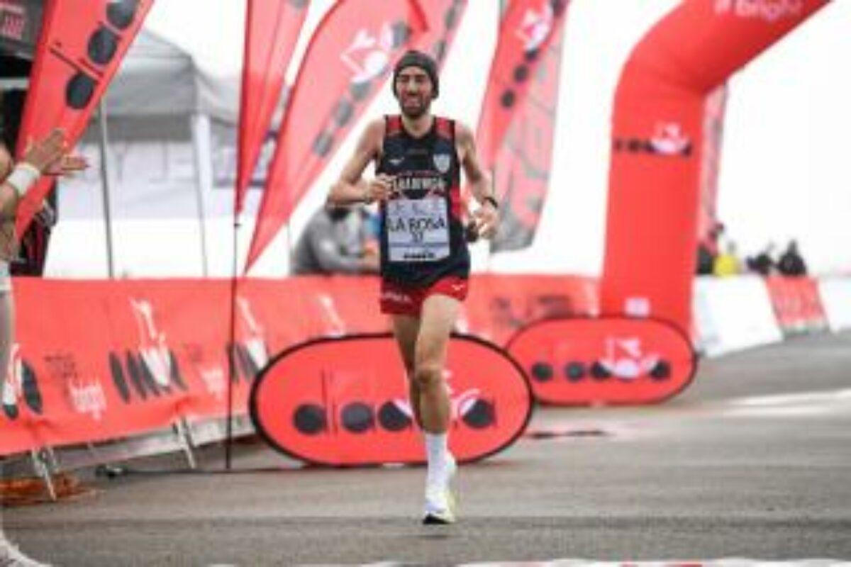 Maratona record all'aeroporto di Siena, Stefano La Rosa e Valeria Sraneo beffati