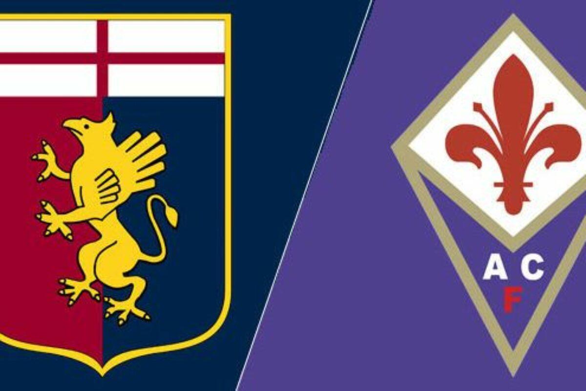 CALCIO Serie A, 29a Giornata Diretta Live Genoa-Fiorentina 1-1 (13'Destro, 23'Vlahovic)