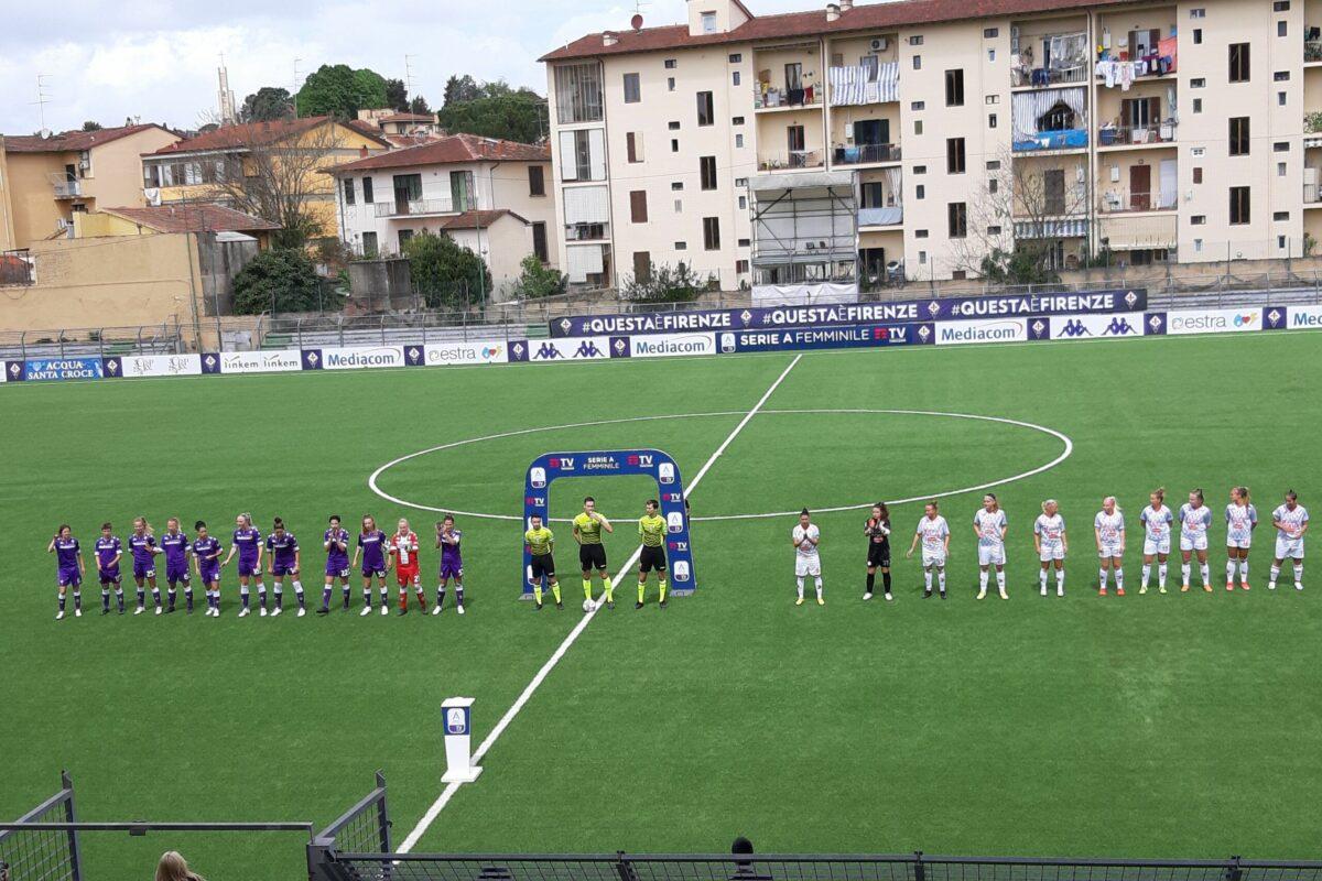 Fiorentina-Bari 3-1 nel segno di Daniela Sabatino