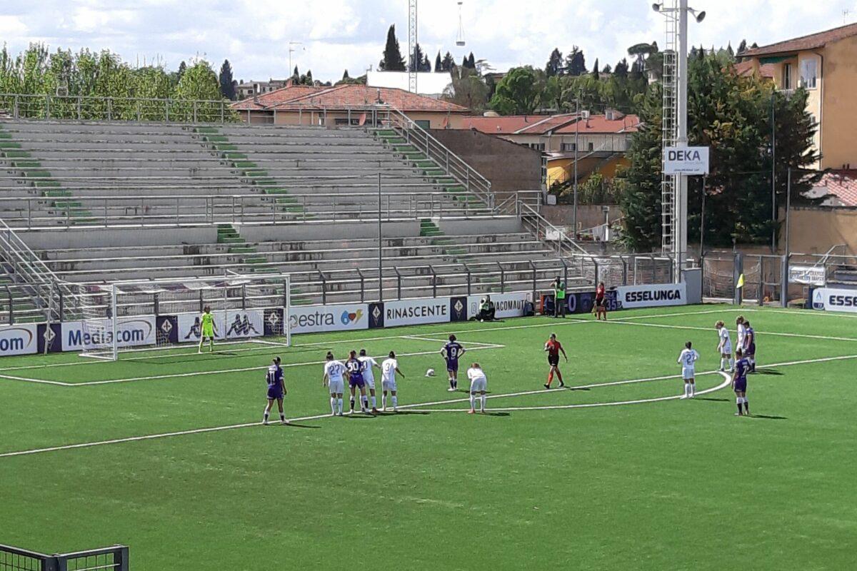 La Fiorentina femminile vince il derby con l'Empoli e consolida il 5° posto