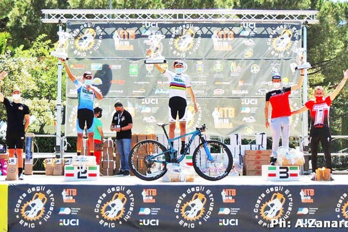 MTB: Tony Longo sul podio a Bibbona, Casagrande quinto