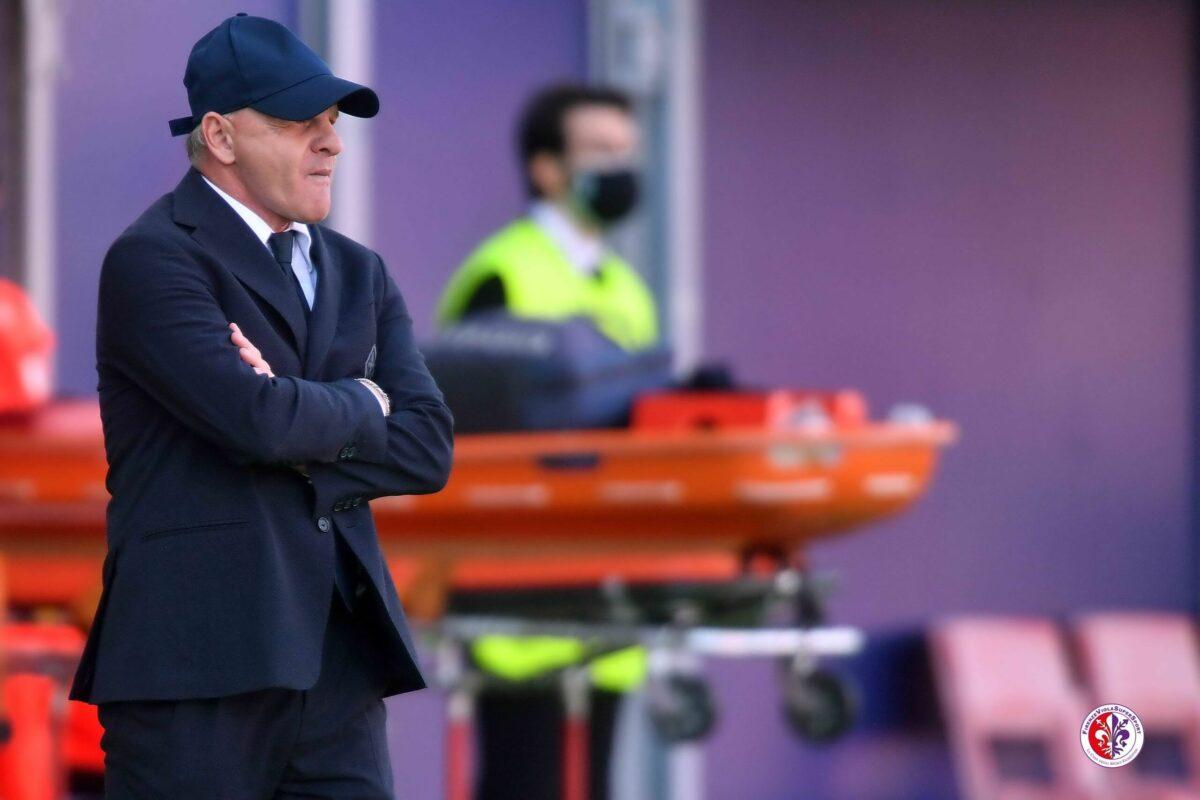 Calcio: Mister Iachini dopo il 3-3 di Bologna