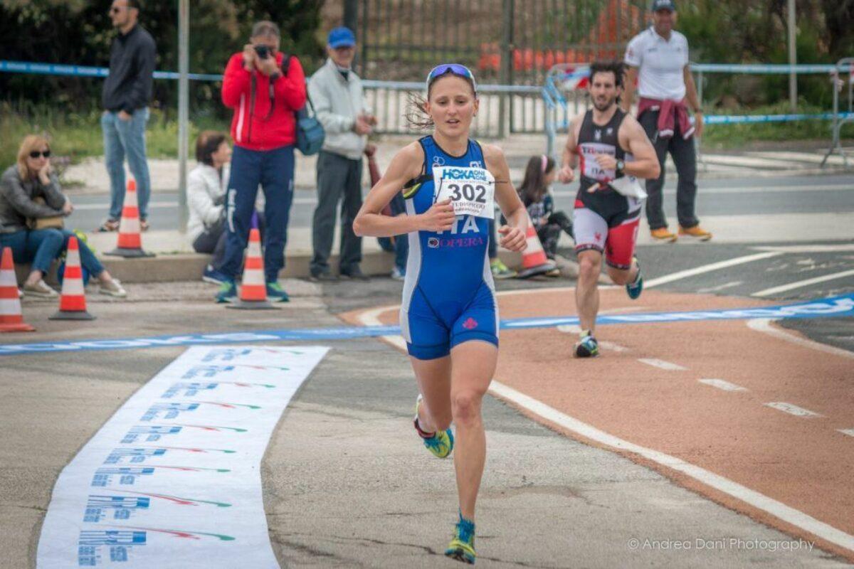 Il Triathlon Città di Livorno ha aperto la stagione: Chiara Ingletto c'è