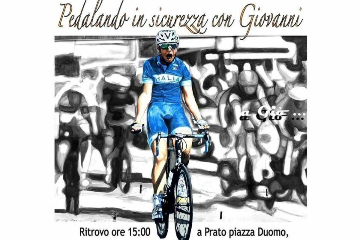 Sabato la pedalata per l'inaugurazione del murales per Giovanni Iannelli