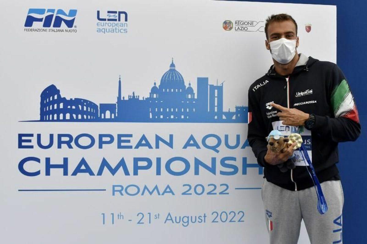 """Campionati Europei Nuoto: """"Superissimo"""" Greg Paltrinieri : sua anche la 10 Km"""