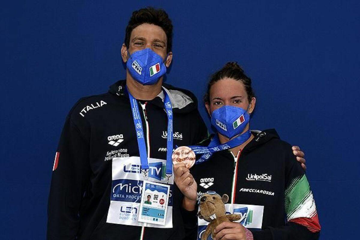 Europei a Budapest: Nel nuoto altre 2 medaglie nella gran fondo dei 25 Km: 1 Argento per Matteo Furlan; 1 Bronzo per Barbara Pozzobon. Italia al 1° posto per Nazioni !!