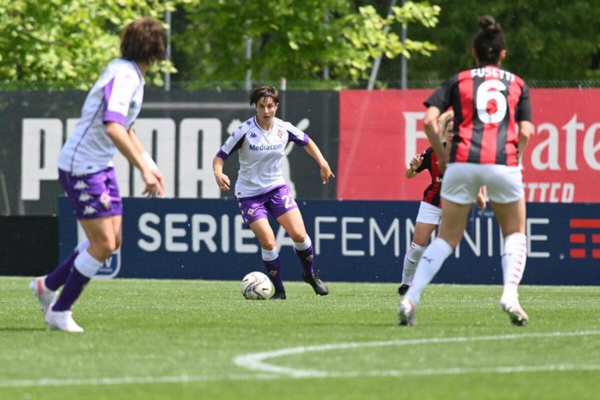 La Fiorentina femminile espugna Vismara e batte il Milan per 3-1