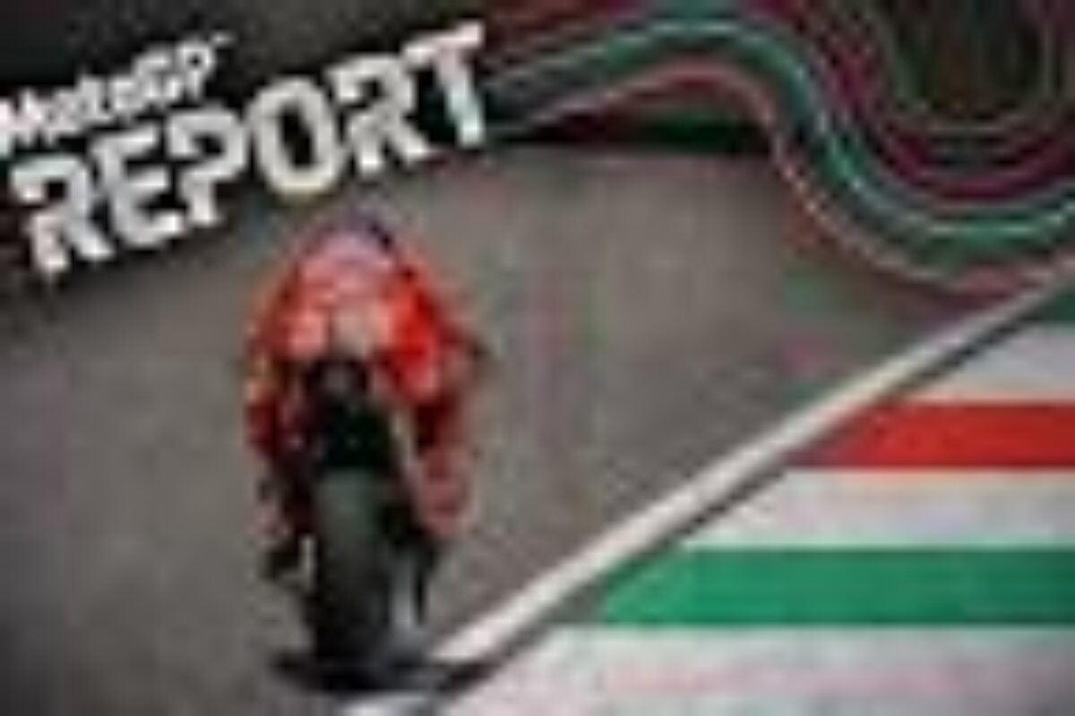 """Moto Mondiale in lutto; al Mugello vince Quartararo; Rossi """"solo"""" decimo"""