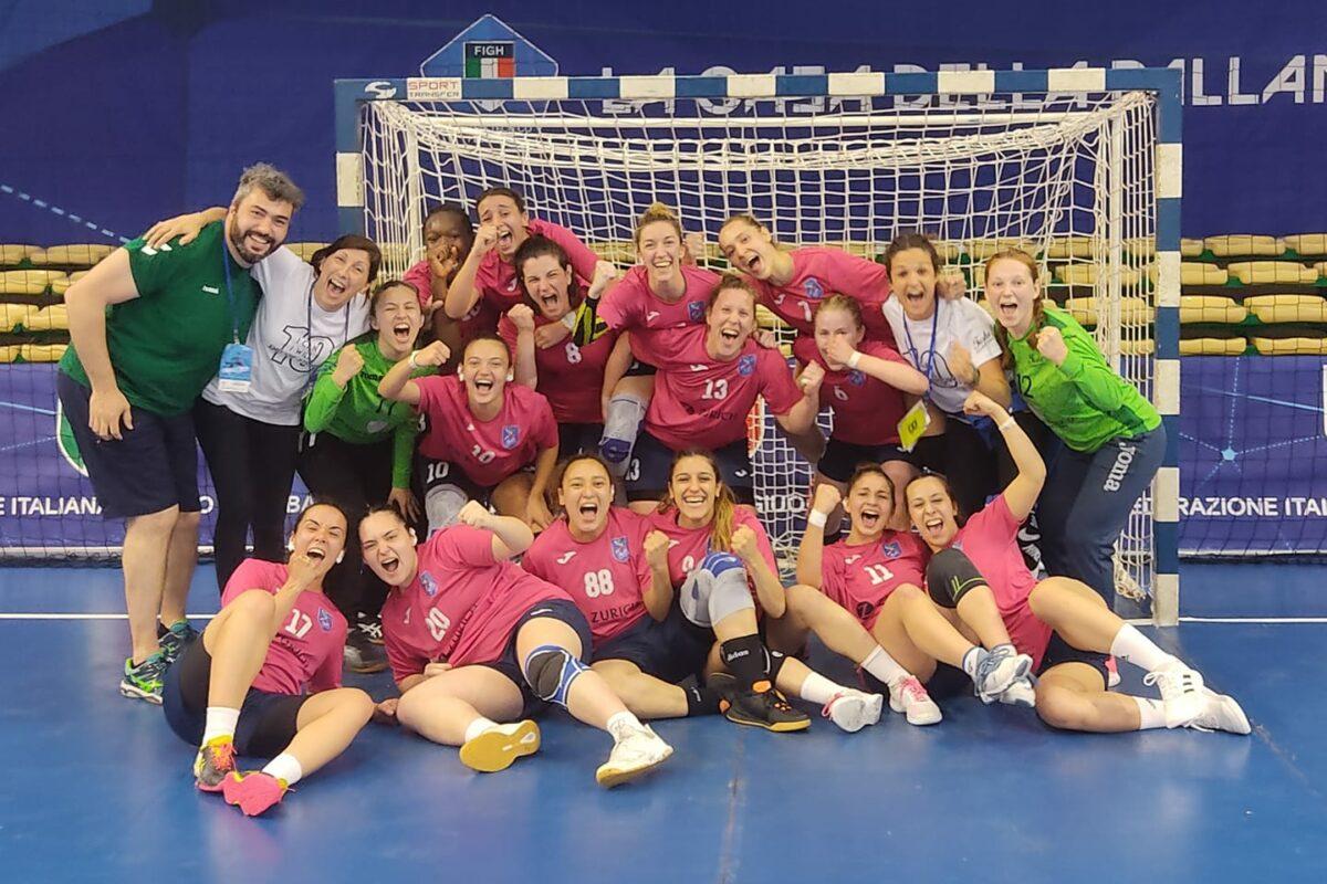 Pallamano: si interrompe in semifinale il sogno della Tushe Prato; Casalgrande in finale 35-23