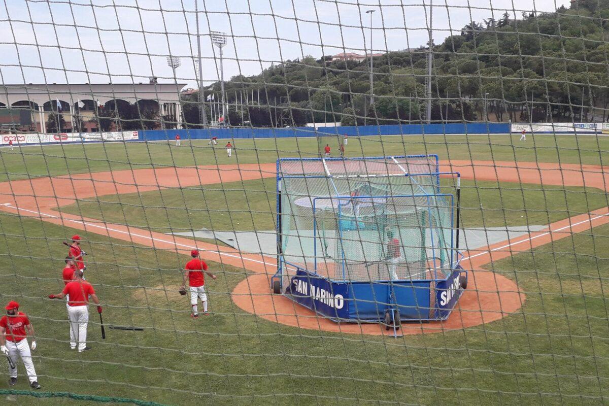 Baseball Serie A/Naz Gir. G T&A San Marino-Ecopolis Grosseto   Gara 2: 13-1 al  7°; Gara 1 7° inning 12-1 x manifesta;