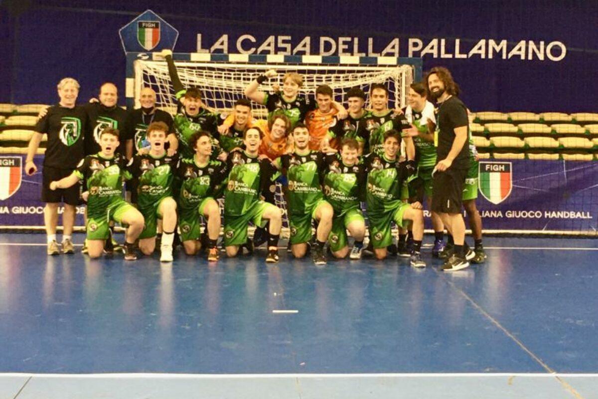 Pallamano: Finali Under 19: Il Tavarnelle batte il Cus Palermo ed è 7° in Italia !!!!