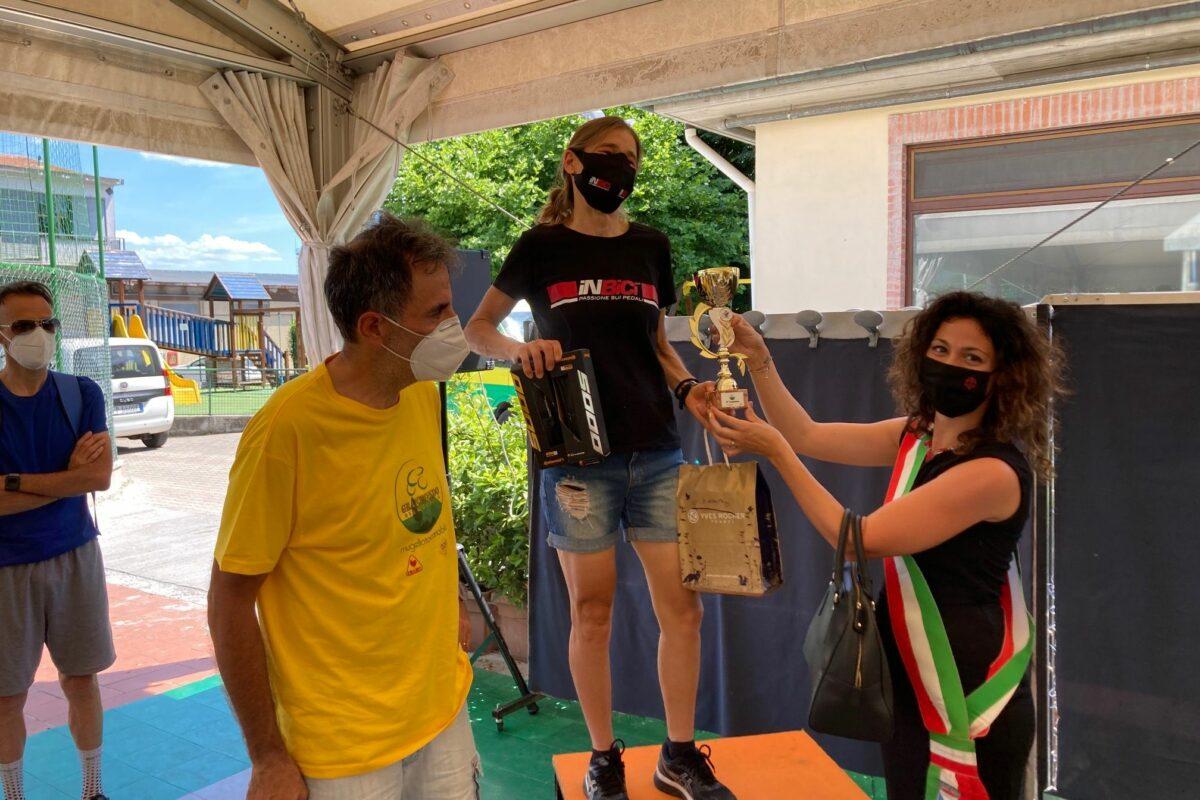 Gran Fondo del Mugello (con partenza dall'autodromo) a Lorenzini e Chiara Giangrandi