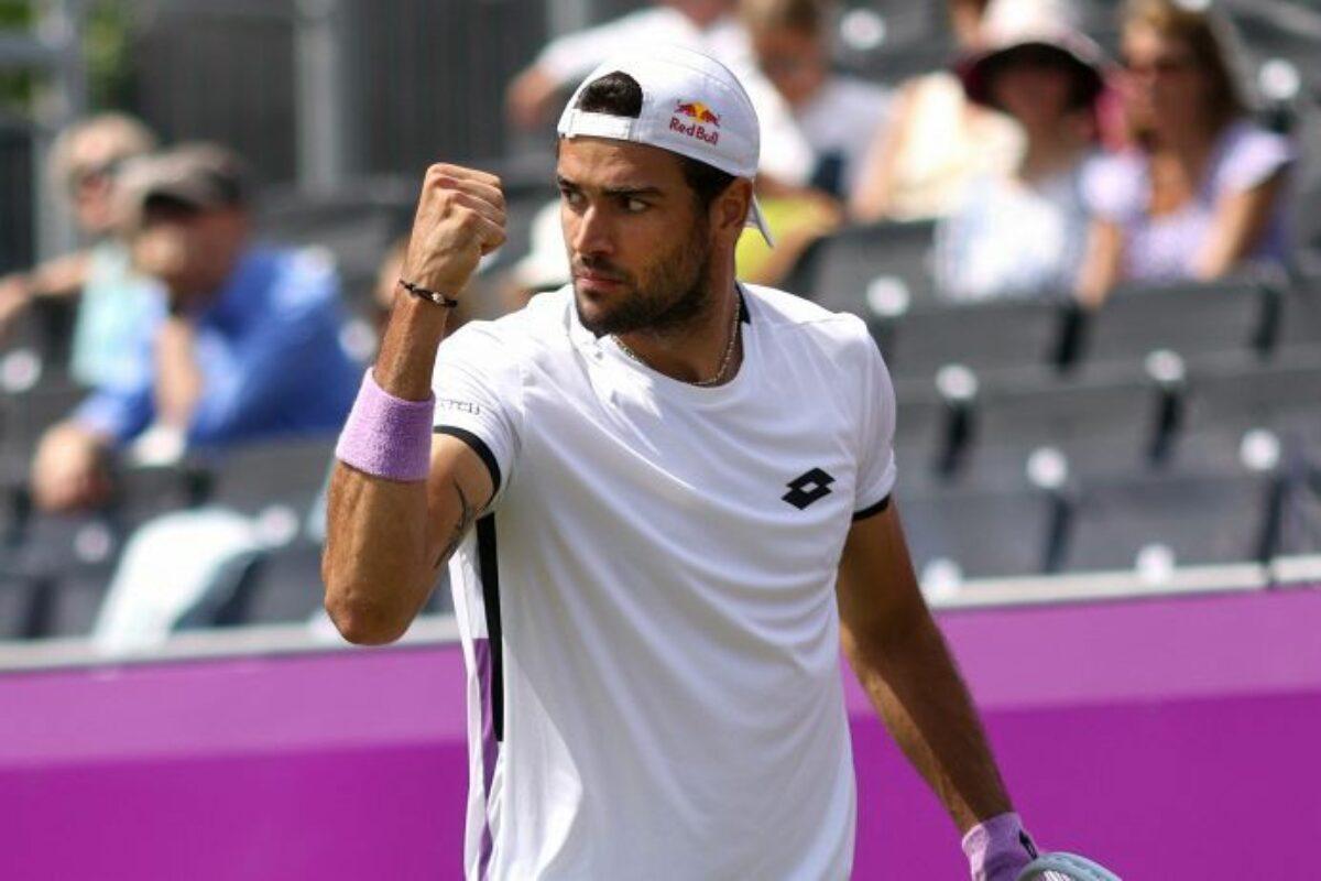 TENNIS- Wimbledon: Berrettini e Sonego al terzo turno. Mager battuto da Kyrgios
