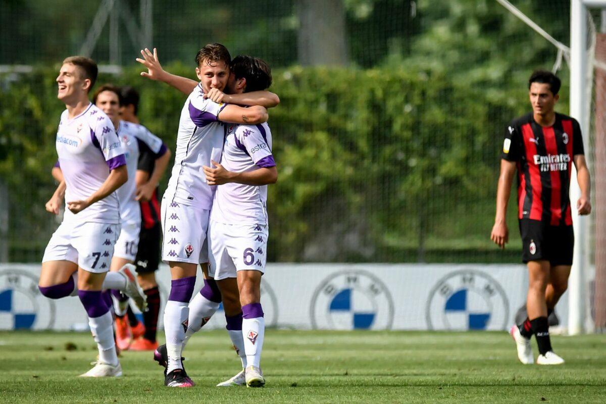 """Campionato Primavera 1: Una grande Fiorentina """"maramaldeggia"""" a Milano: rossoneri """"smazzati"""" col tris gigliato: 0-3 !!"""