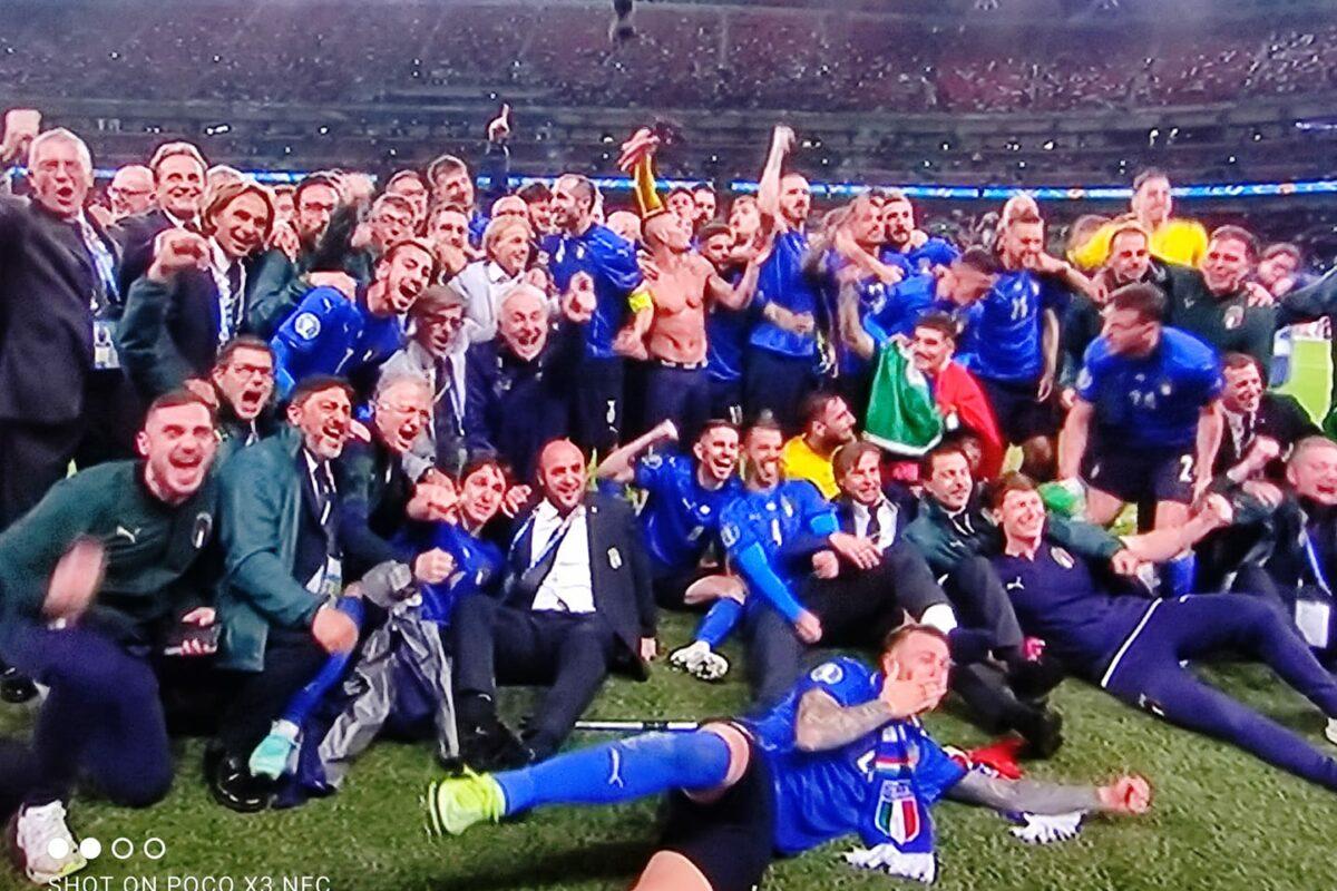 Calcio: SIAMOOOOOOOOO CAMPIONI D'EUROPAAAAAAAA INGHILTERRA BATTUTA 4-3 DCR
