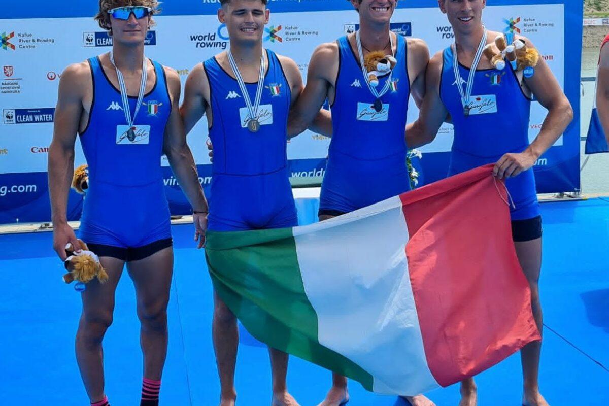 Mondiali Under 23, Italia prima nel medagliere