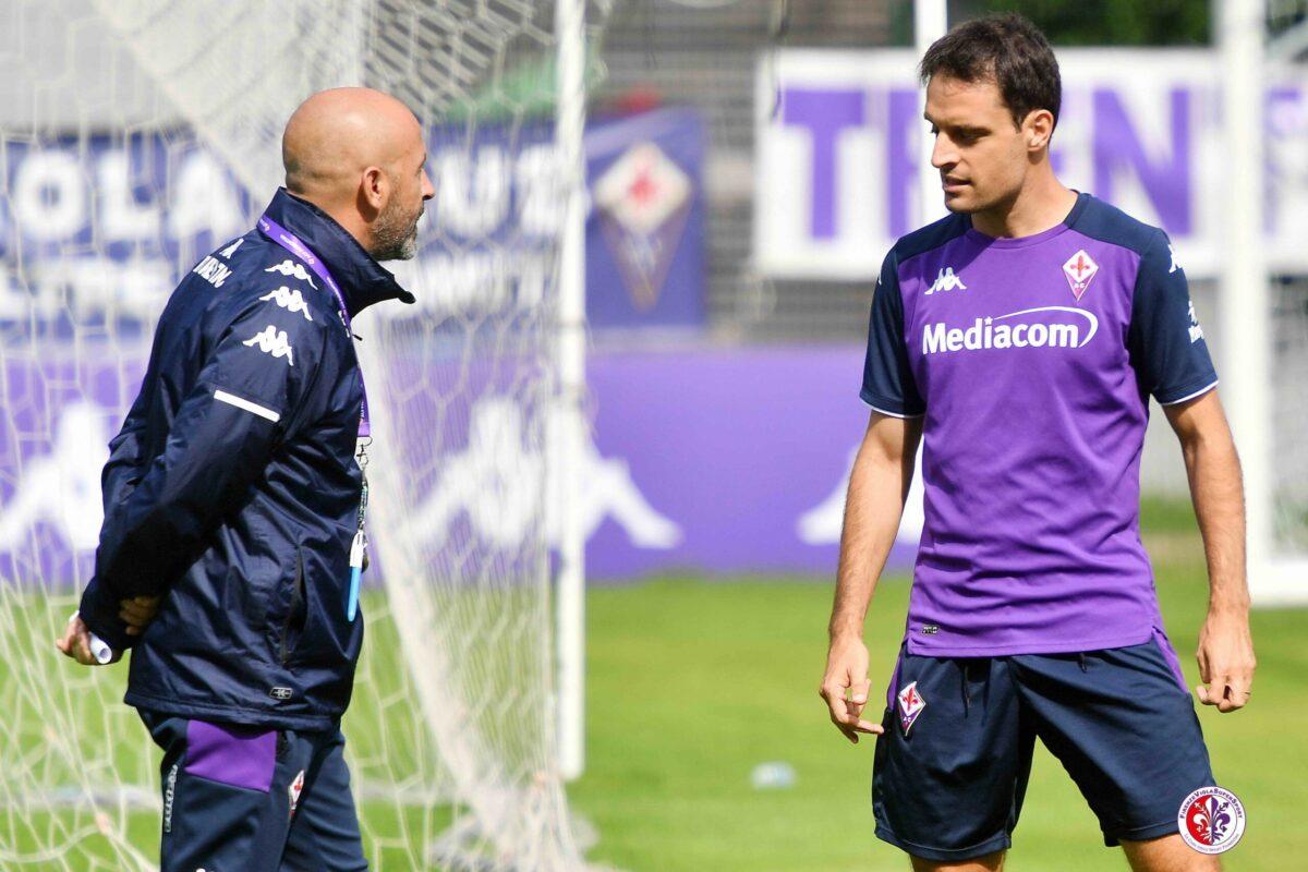 CALCIO- Moena. Il Ritiro della Fiorentina, 12° Giorno. Allenamenti con nuove idee, Italiano piace.