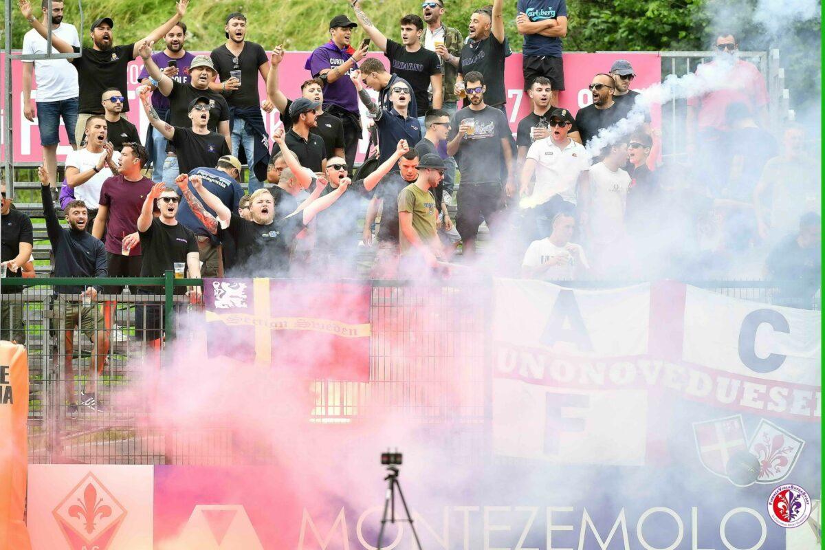 CALCIO- Moena, Amichevole Fiorentina-Polisportiva C4 Foligno 11-0 (10'Callejon, 17'Duncan, 37'Bonaventura rig. 47'Vlahovic, 48'Vlahovic, 55'Vlahovic, 68'Vlahovic rig.,…