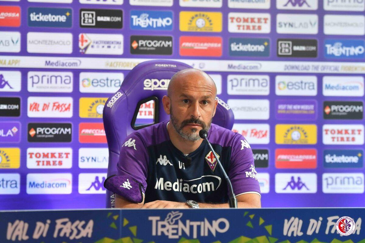 CALCIO-La Conferenza Stampa di Vincenzo Italiano alla vigilia di Fiorentina-Napoli