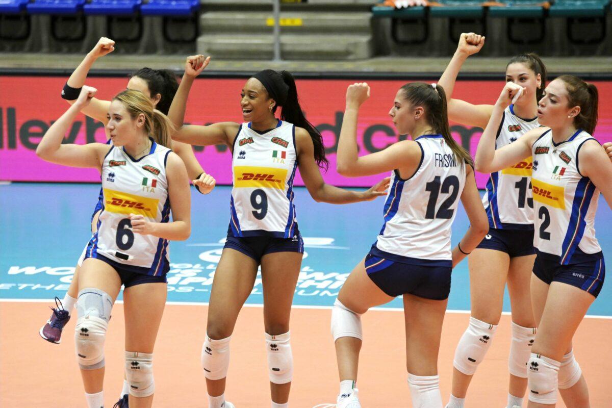 VOLLEY FEMMINILE- La Nazionale Under 20 é Campione del Mondo! Sconfitta la Serbia 3-0 ( 25-18; 25-20; 25-23)