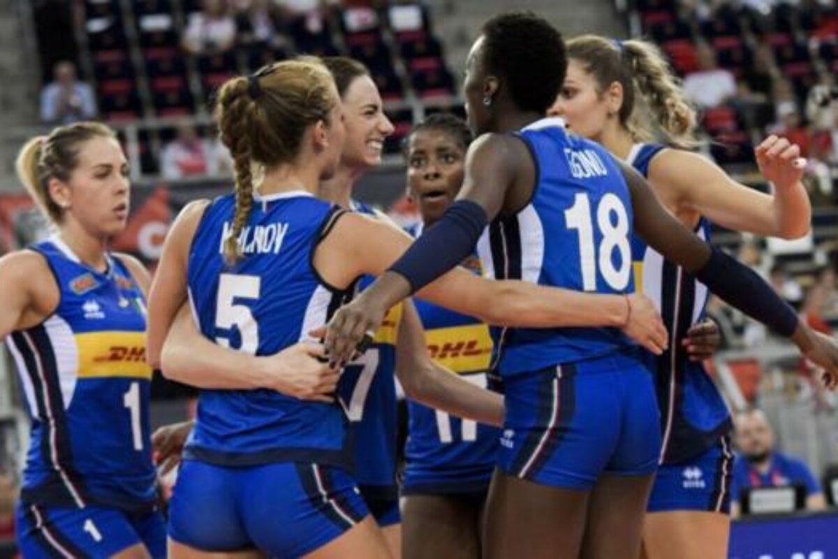 VOLLEY FEMMINILE- Le 12 atlete convocate da Davide Mazzanti per le Olimpiadi
