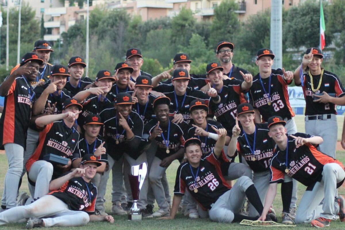Baseball: a Macerata l'Olanda si laurea Campione d'Europa Under 18: Italia battuta 6-2