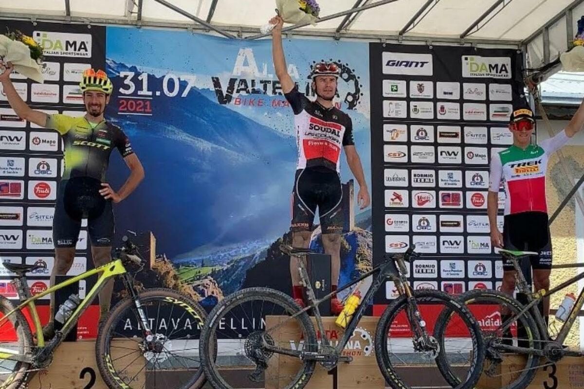 MTB: Medvedev vince domando i 100 km della Alta Valtellina Bike Marathon