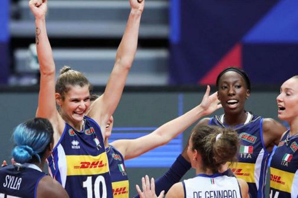 VOLLEY FEMMINILE Europei, Italia-Svizzera 3-0 ( 25-17; 25-18; 27-25). Agli ottavi sfida contro il Belgio