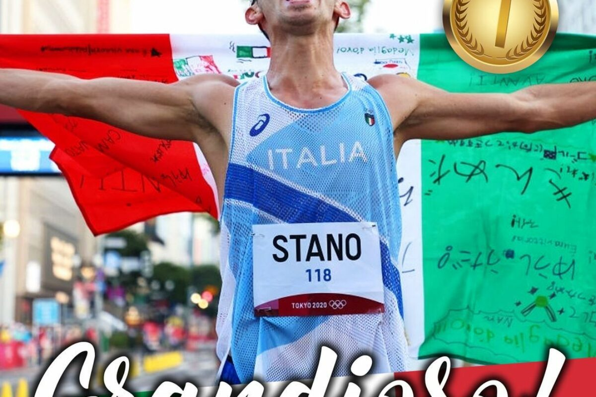 """Olimpiadi Tokio 2020/21: DIARIO """"CASA ITALIA"""" di un """"super"""" Giovedi 5 Agosto: 5 Medaglie..!! BRONZO nel Karate con Viviana Bottaro..medaglia nr 35 a-1 dal record di Roma   ..!! !!  MEDAGLIA DI BRONZO ( nr 17) PER ELIA VIVIANI DALLA PISTA !! MEDAGLIA D'ORO NELLA 10 KM MARCIA DI MASSIMO STANO 7° ORO !! Nella notte 31° Medaglia azzurra: un """"mitico super"""" Greg Paltrinieri ci porta il 16° Bronzo nella 10 Km di fondo; poi arriva la medaglia nr 32: e' d'ARGENTO di Manfredi Rizza nella Canoa.."""