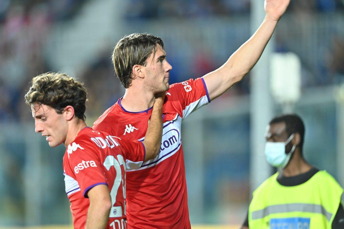 """Calcio: Dusan Vlahovic """"domina"""" ma ancora non ci sono certezze"""