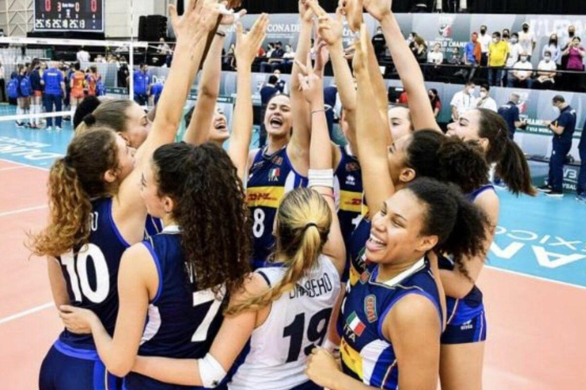 VOLLEY FEMMINILE- Mondiale Under 18, Azzurrine sconfitte in finale dalla Russia 3-0 ( 25-16; 25-17; 25-20)