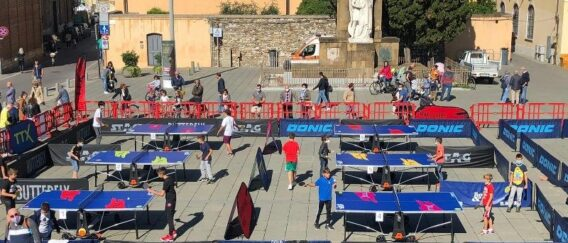 Ping Pong in Piazza a Prato