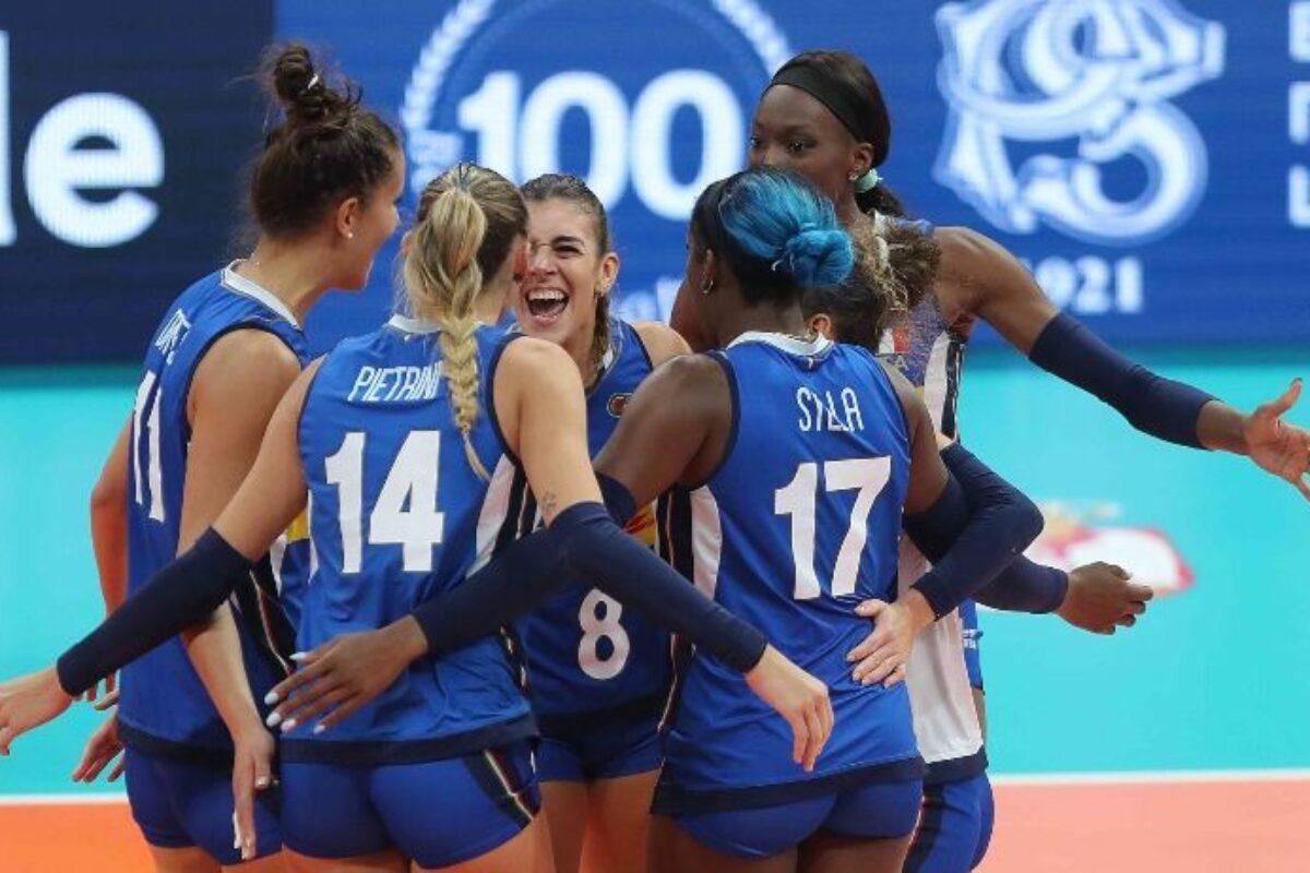VOLLEY FEMMINILE COPPA EUROPEI- ITALIA-OLANDA 3-1(25-19; 25-17; 16-25; 25-18) É Finale, domani, ore 20, contro la Serbia