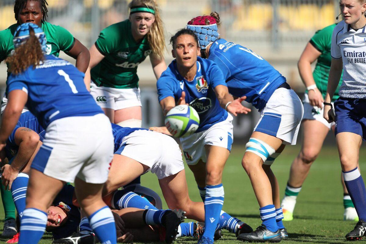 RUGBY FEMMINILE- Qualificazione World Cup Italia- Irlanda 7-15