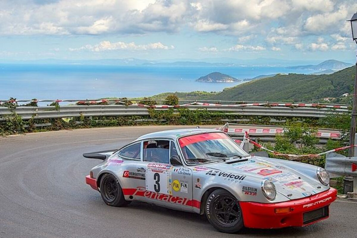 """Rallye: 33°Storico Elba"""": Terminata anche la 4° Speciale: Nisportino-Cavo"""
