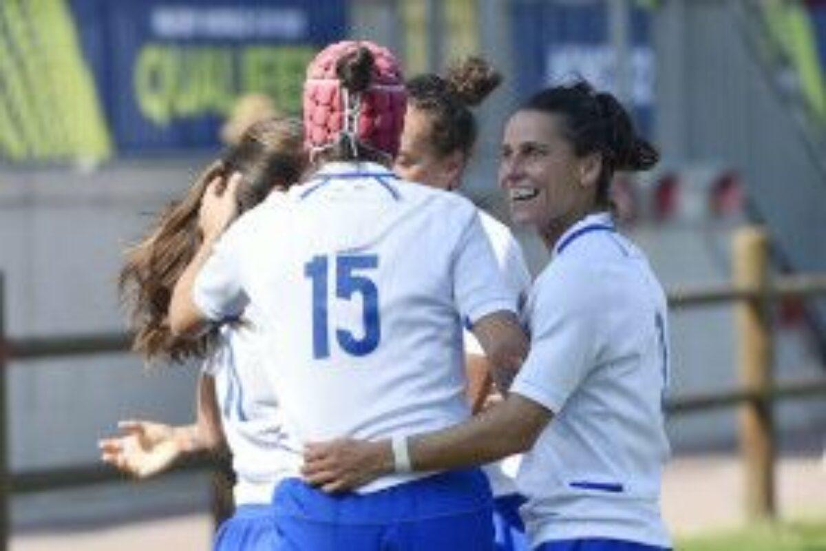 RUGBY FEMMINILE- Qualificazione World Cup Scozia-Italia 13-38.