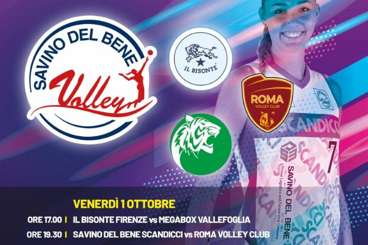 """VOLLEY FEMMINILE- Il Trofeo """"Città di Scandicci"""" in programma a Scandicci l'1 e 2 ottobre"""