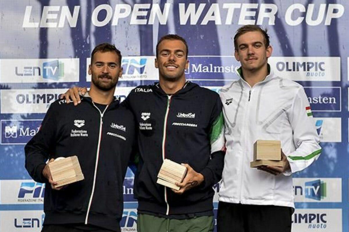 Nuoto Fondo: a Piombino trionfano Greg Paltrinieri e Giulia Gabrielleschi