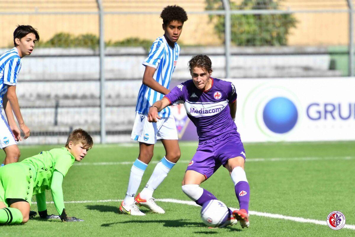 Calcio: Campionato Nazionale Under 15 – A.C.F. FIORENTINA VS SPAL 4 : 0. Le foto della partita: