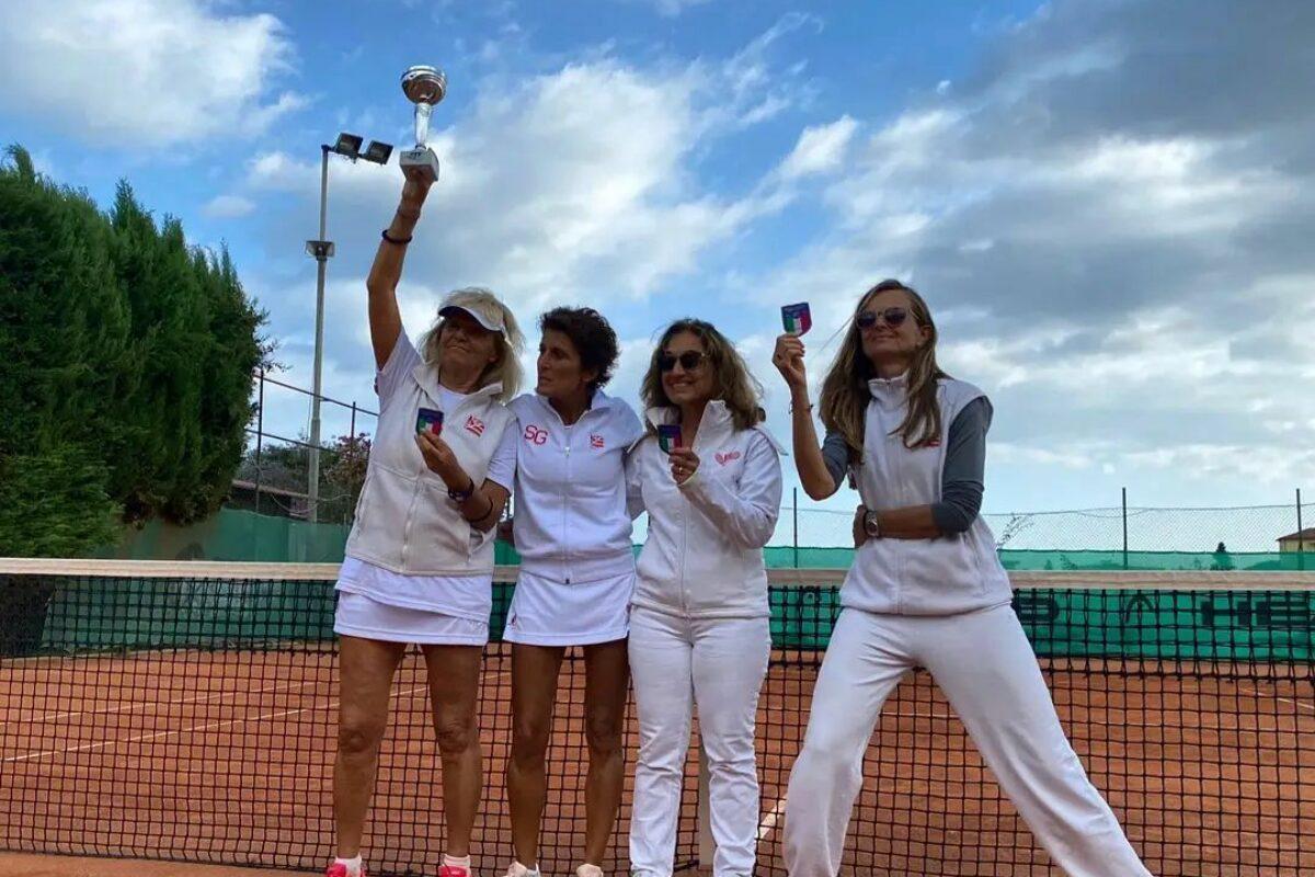 Tennis: Il Ct Firenze Campione Italiano Ladies 4.4