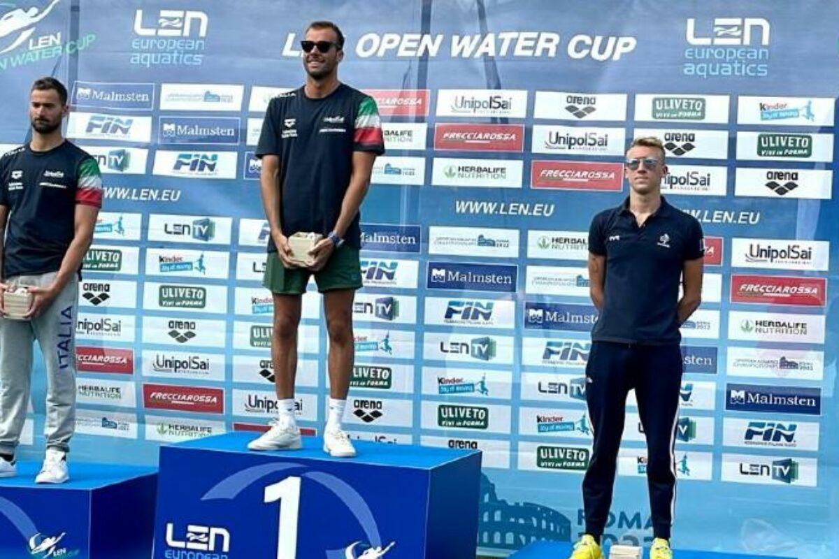 Nuoto fondo: la tappa di Alghero la vincono Greg Paltrinieri, 2° Domenico Acerenza; e Leonie Beck; 3° Giulia Gabrielleschi