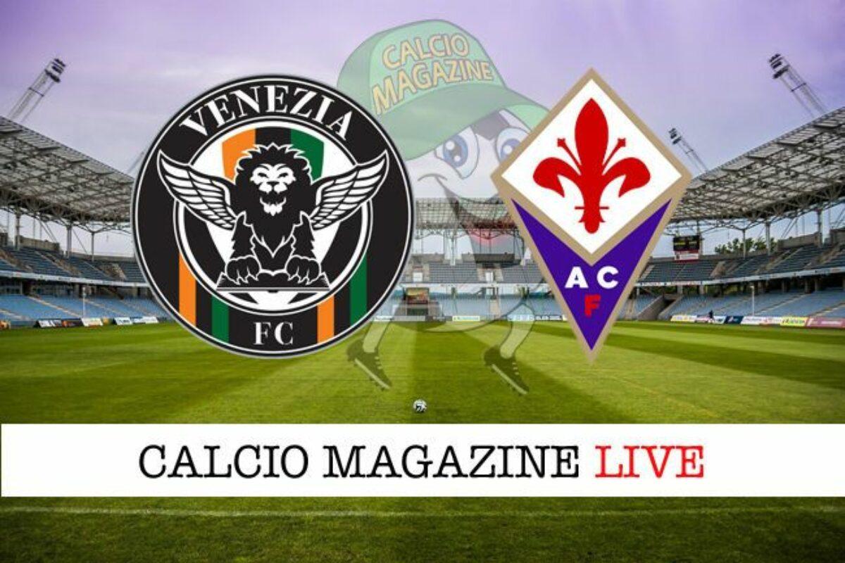 Calcio si chiude il 10°turno. Venezia Fiorentina: le formazioni ufficiali: Out Niko Gonzalez!!!