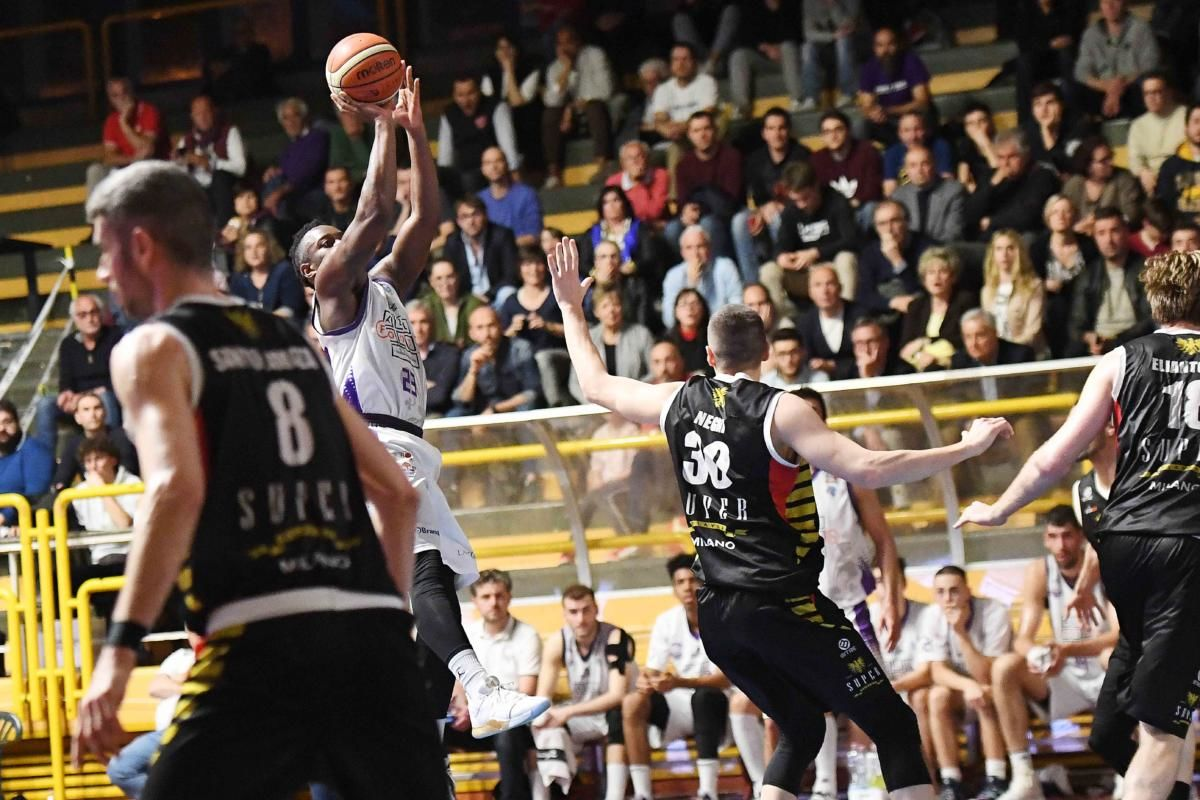 ALL FOOD FIORENTINA BASKET VS URANIA SUPER FLAVOR MILANO 39