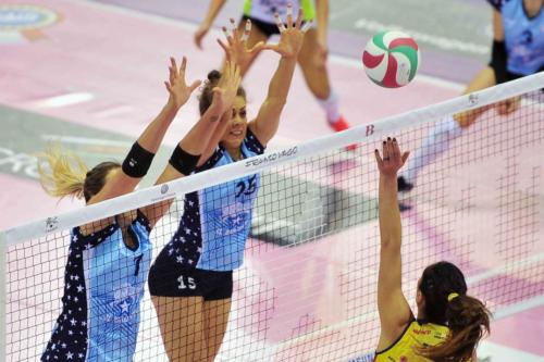 IL BISONTE FIRENZE VS IMOCO VOLLEY CONEGLIANO 13