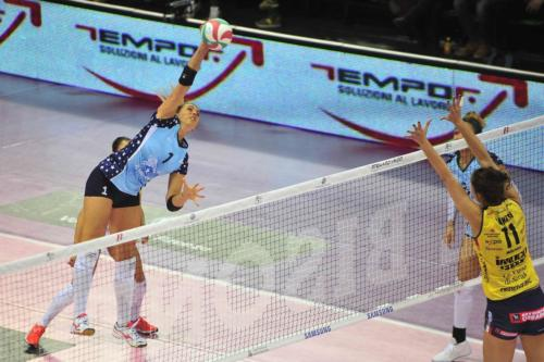 IL BISONTE FIRENZE VS IMOCO VOLLEY CONEGLIANO 17
