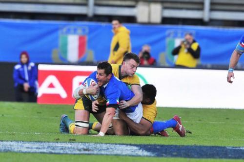 Italia vs Australia 17-11-18